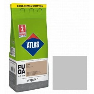 ATLAS FUGA WĄSKA Zaprawa do spoin (1-6 mm) kolor 035 SZARA 2 kG