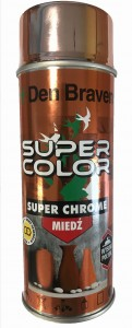 Den Braven SUPER COLOR Super Chrome MIEDŹ lakier akrylowy