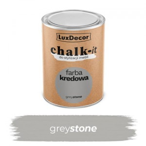 LuxDecor Farba Kredowa Chalk-It Grey Stone 0,75 L