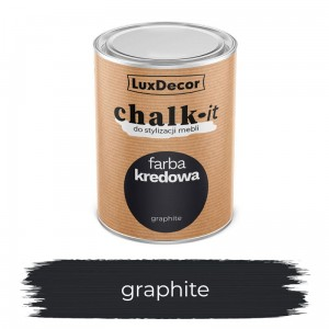 LuxDecor Farba Kredowa Chalk-It Graphite 0,75 L