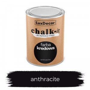 LuxDecor Farba Kredowa Chalk-It Anthracite 0,75 L