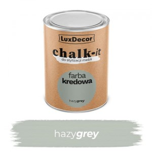 LuxDecor Farba Kredowa Chalk-It Hazy Grey 0,75 L