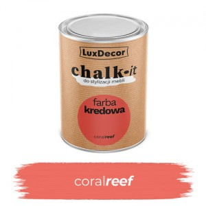 LuxDecor Farba Kredowa Chalk-It Coral Reef 0,75 L
