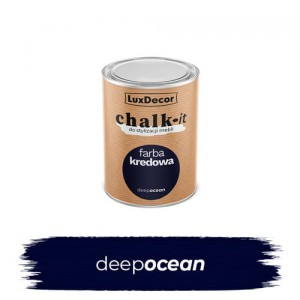 LuxDecor Farba Kredowa Chalk-It Deep Ocean 125 ML
