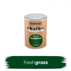 LuxDecor Farba Kredowa Chalk-It Fresh Grass 125 ML