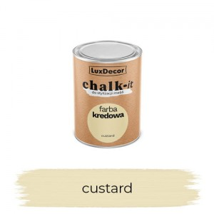 LuxDecor Farba Kredowa Chalk-It Custard 125 ML