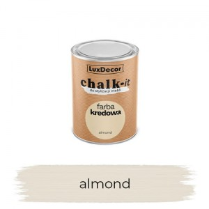 LuxDecor Farba Kredowa Chalk-It Almond 125 ML