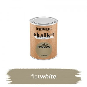 LuxDecor Farba Kredowa Chalk-It Flat White 125 ML