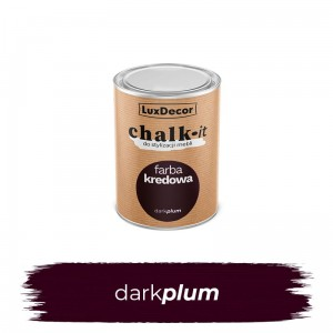 LuxDecor Farba Kredowa Chalk-It Dark Plum 125 ML