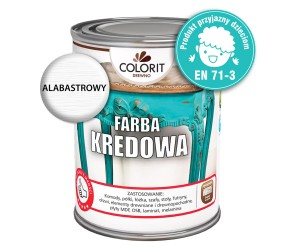 Colorit Farba Kredowa Do Drewna Alabastrowy 750ml