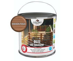 Colorit Olej Do Tarasów Mahoń Togo 2,5L