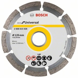 Bosch Diamentowa tarcza do betonu ECO for Universal 125x22.23x2.0x7mm