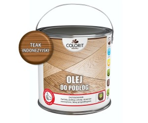 COLORIT Olej do podłóg TEAK INDONEZYJSKI 2,5L