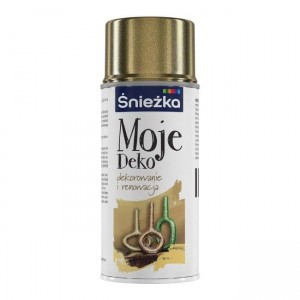 ŚNIEŻKA MOJE DEKO SPRAY ZLOTO S002 150ML