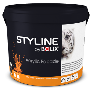 STYLINE BOLIX ACRYLIC FACADE COLOR BASE 00 9L
