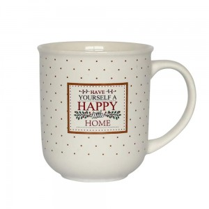 HAPPY HOME KUBEK 300 ML KREMOWY NBC