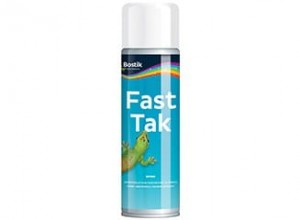 Bostik Klej w Sprayu Fast Tak Spray Glue Permanent 500ml