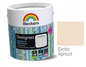 BECKERS DESIGNER KITCHEN & BATHROOM EXOTIC APRICOT 2,5 L