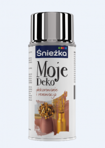 ŚNIEŻKA MOJE DEKO SPRAY SREBRO 150 ML