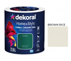 Dekoral Home&Style Brown Rice 2,5l