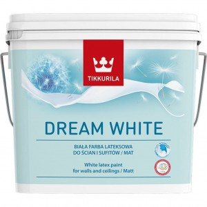 TIKKURILA DREAM WHITE 3L