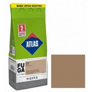 ATLAS FUGA WĄSKA Zaprawa do spoin (1-6 mm) kolor 207 LATTE 5KG