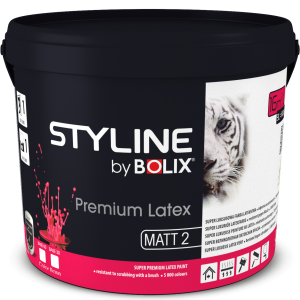 STYLINE BOLIX PREMIUM LATEXSTYLE COLOR BASE MATT 00 9L