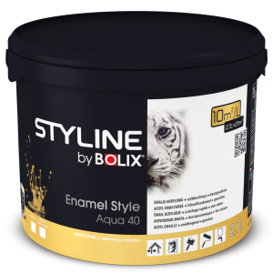 STYLINE BOLIX ENAMELSTYLE AQUA BASE 30 / SUPER WHITE 0,9L
