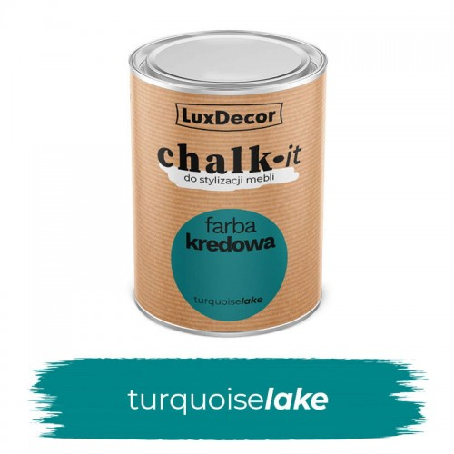LuxDecor Farba Kredowa Chalk-It Turquoise Lake 0,75 L