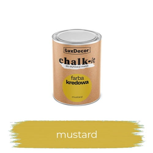 LuxDecor Farba Kredowa Chalk-It Mustard 125 ML