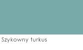 Szykowny turkus