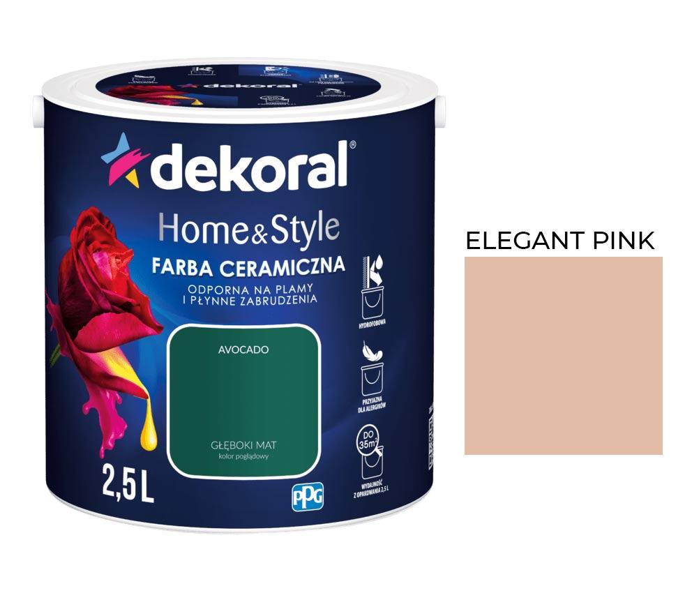 Dekoral Homestyle Elegant Pink 25l