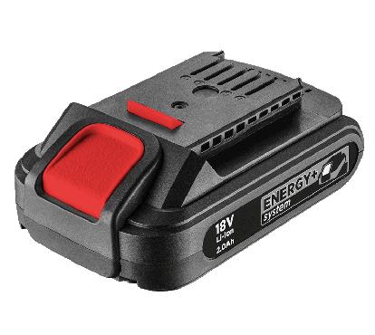 Akumulator Energy+ 18V, Li-lon 2.0 Ah GRAPHITE