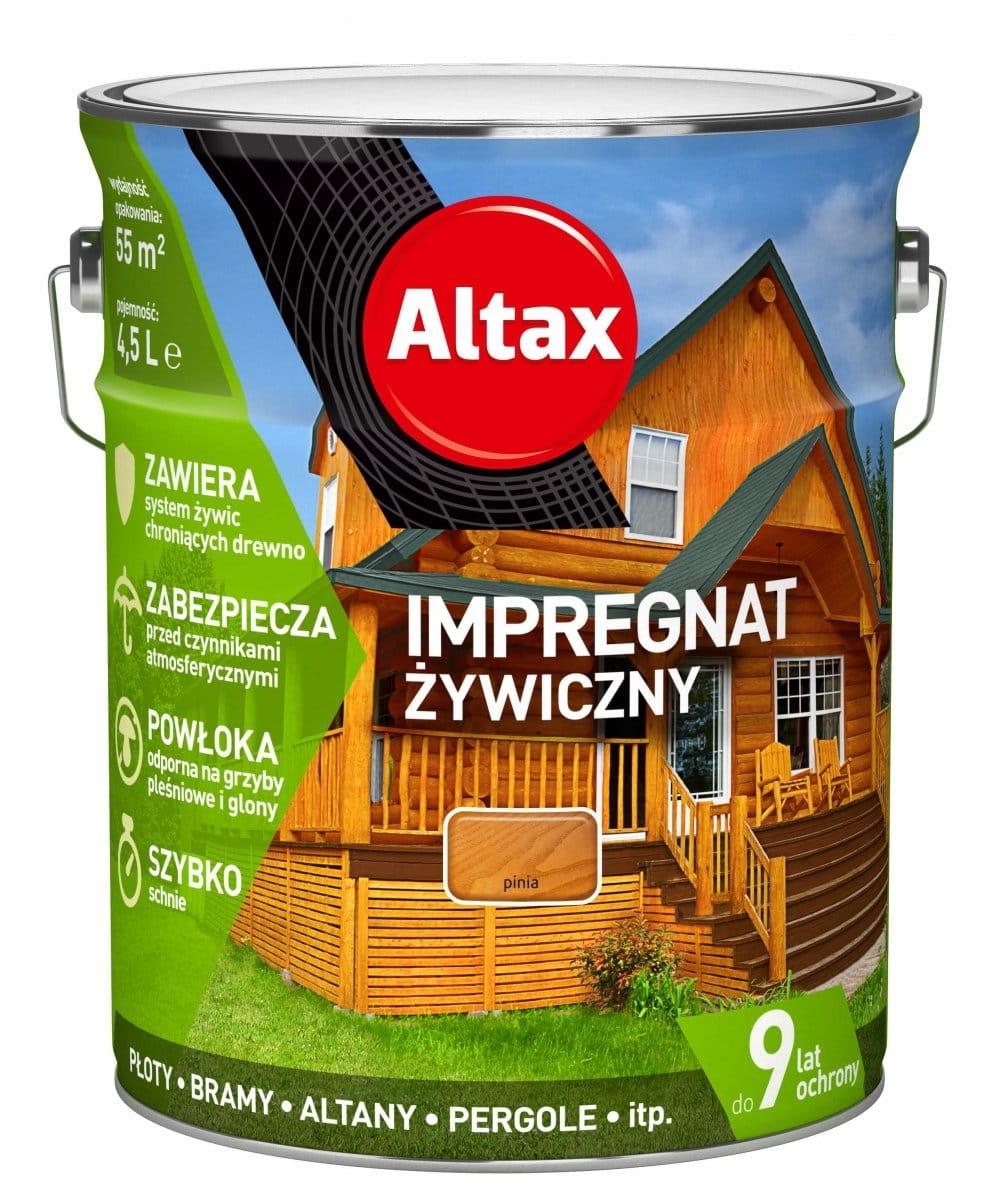ALTAX IMPREGNAT ŻYWICZNY 4,5L PINIA