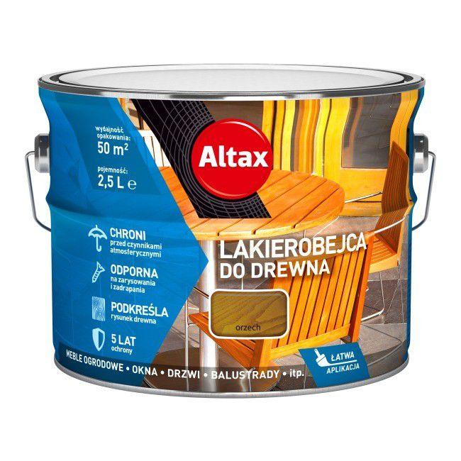 Altax Lakierobejca do Drewna 2,5L Orzech