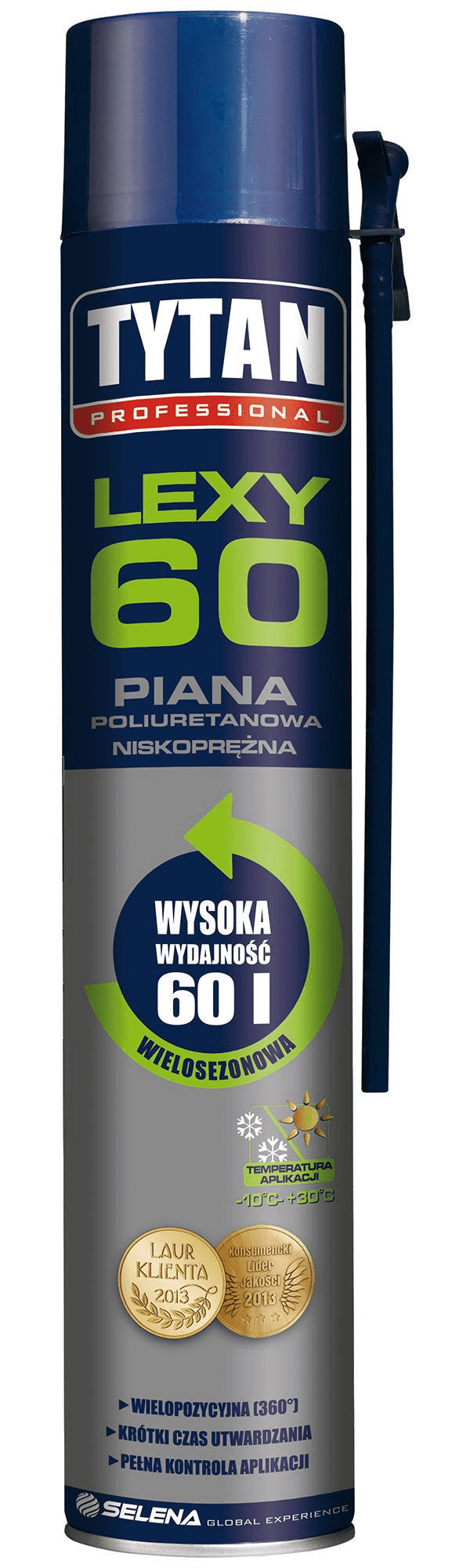 Tytan Piana Niskoprężna Professional Lexy 60 750ML