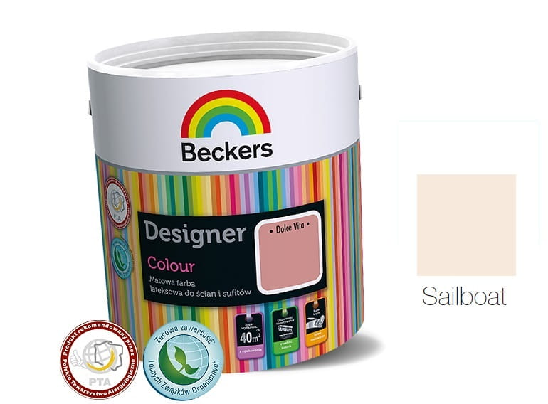 BECKERS DESIGNER COLOUR SAILBOAT 2,5L