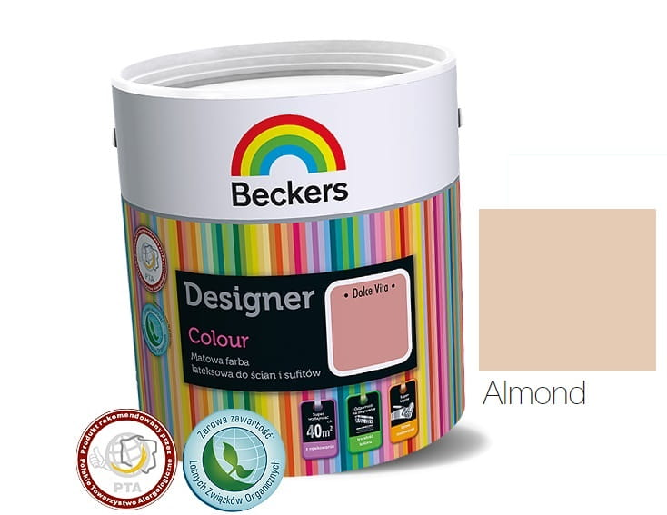 BECKERS DESIGNER COLOUR ALMOND 5L